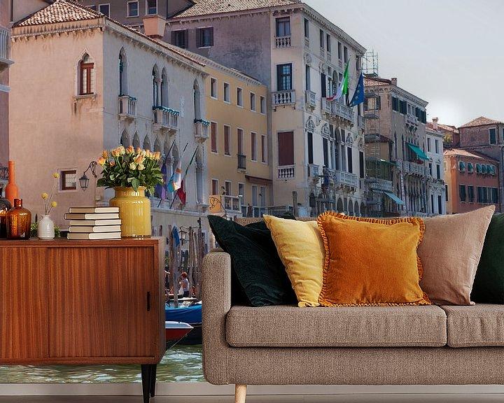 Sfeerimpressie behang: Venice Italy  van Brian Morgan
