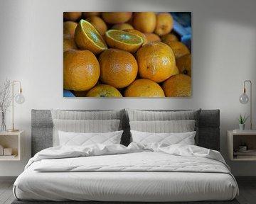 Orangenmarkt Loix von Maurits Bredius