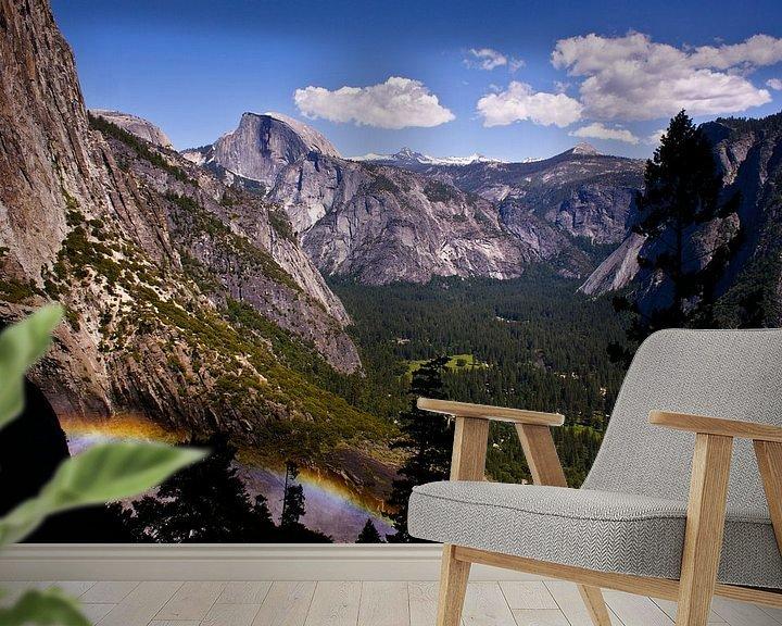 Sfeerimpressie behang: Yosemite National Park van Dennis Van Den Elzen