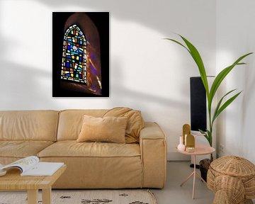 Glasmalerei Kirche Portes-en-Re von Maurits Bredius
