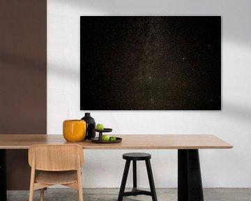 sterrenhemel. De melkweg en nog enkele andere sterrenstelsels