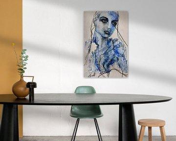 'Blue Iris' van Kim Rijntjes