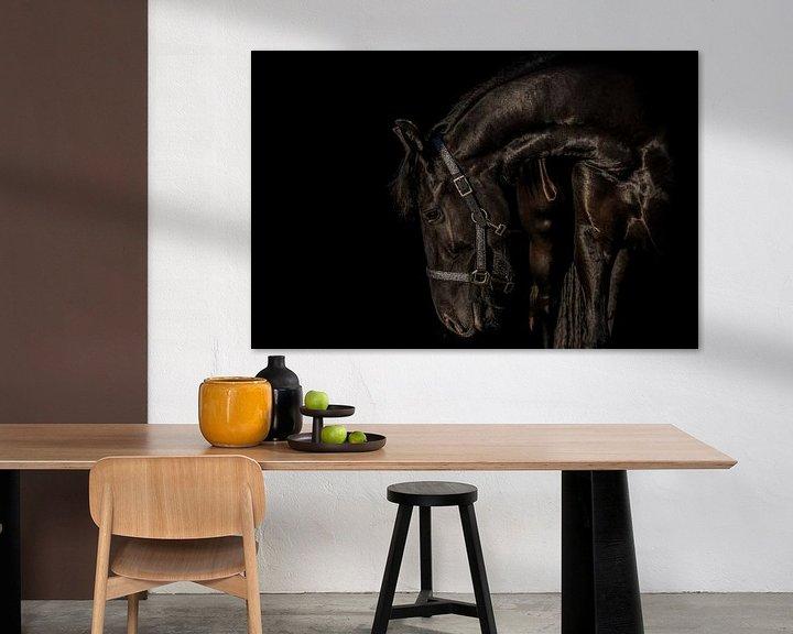Sfeerimpressie: Hiske in black van Natasja Claessens