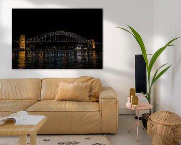De Sydney Harbor Bridge van Ivo de Rooij