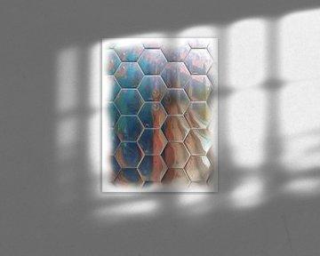 Abstract honinggraat van Maurice Dawson