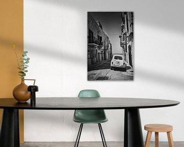 Die Straße zum Meer in Schwarz-Weiß von iPics Photography