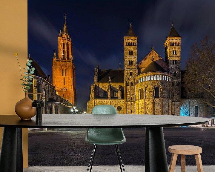 Beispiel fototapete: Vrijthof Maastricht 2020. von Danny Bartels