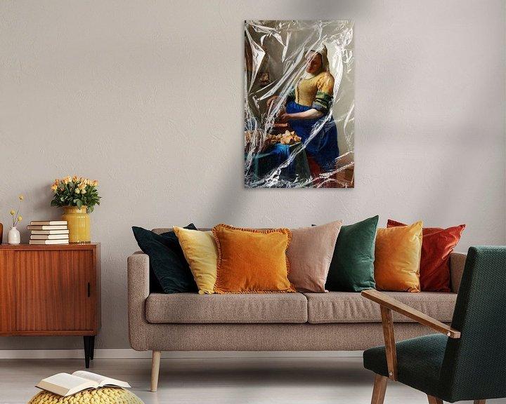 Sfeerimpressie: Het Melkmeisje – Almost Unwrapped van Marja van den Hurk