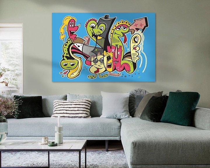 Sfeerimpressie: Graffiti Pop Art van Koen Haarbosch