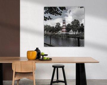 Lighthouse Breda (vuurtoren) van Nancy Bastiaansen
