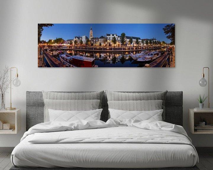 Sfeerimpressie: Kleurrijke zomeravond Haven Breda in panorama van JPWFoto