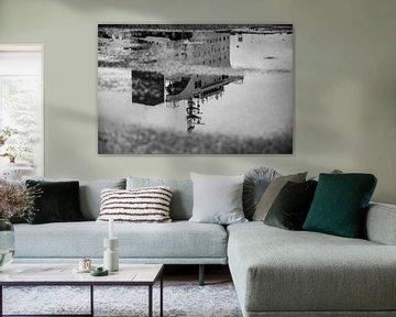 Schiffe im Hafen von Amsterdam. von scheepskijkerhavenfotografie