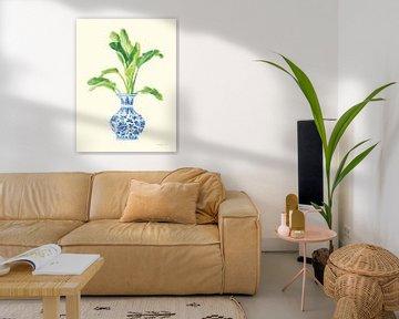 Palm Chinoiserie I, Danhui Nai von Wild Apple