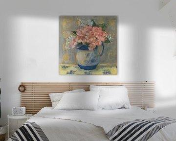 rosa Pelargonien, Carol Rowan von Wild Apple