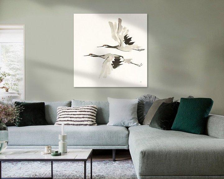 Beispiel: Zen Cranes I Warm, Chris Paschke von Wild Apple