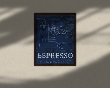 Coffee Blueprint IV Indigo, Marco Fabiano van Wild Apple