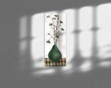 Zen Panel I auf Weiß, Silvia Vassileva von Wild Apple