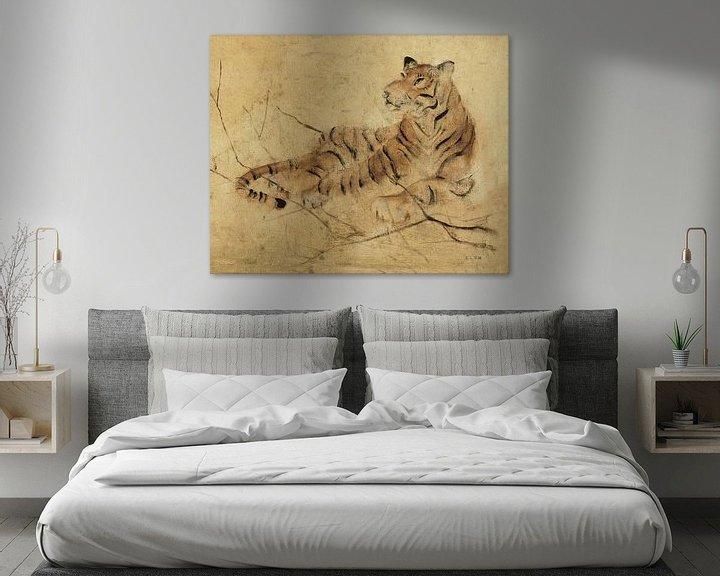 Beispiel: Globale Tiger-Licht Crop, Cheri Blum von Wild Apple