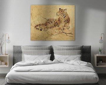 Global Tiger Light Crop, Cheri Blum van Wild Apple
