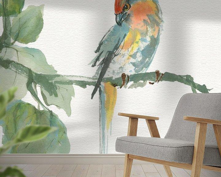Beispiel fototapete: Crested Cockatoo v2, Chris Paschke von Wild Apple
