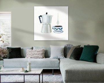 Kaffeepause VII, Kathleen Parr McKenna von Wild Apple