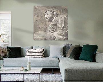 Asian Buddha II Neutral, Wild Apple Portfolio von Wild Apple