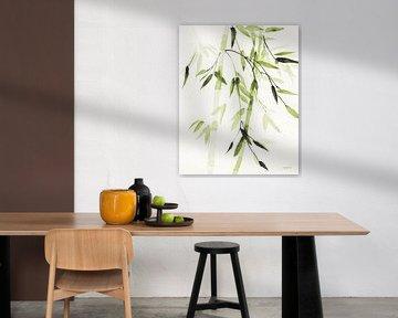 Bladeren van het bamboe V Green, Danhui Nai van Wild Apple