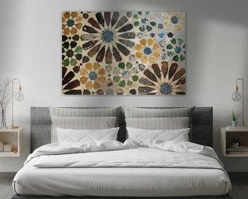 Alhambra Tile I, Sue Schlabach von Wild Apple