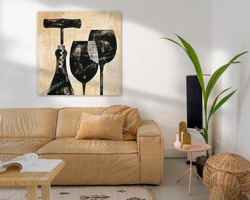 Wine Selection II, Daphne Brissonnet von Wild Apple