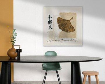 Bronze Leaf I - Goldene Freundschaft, Chris Paschke von Wild Apple