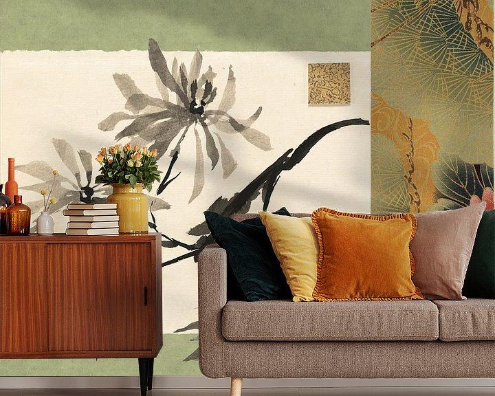 Sfeerimpressie behang: Textile Mum, Chris Paschke van Wild Apple