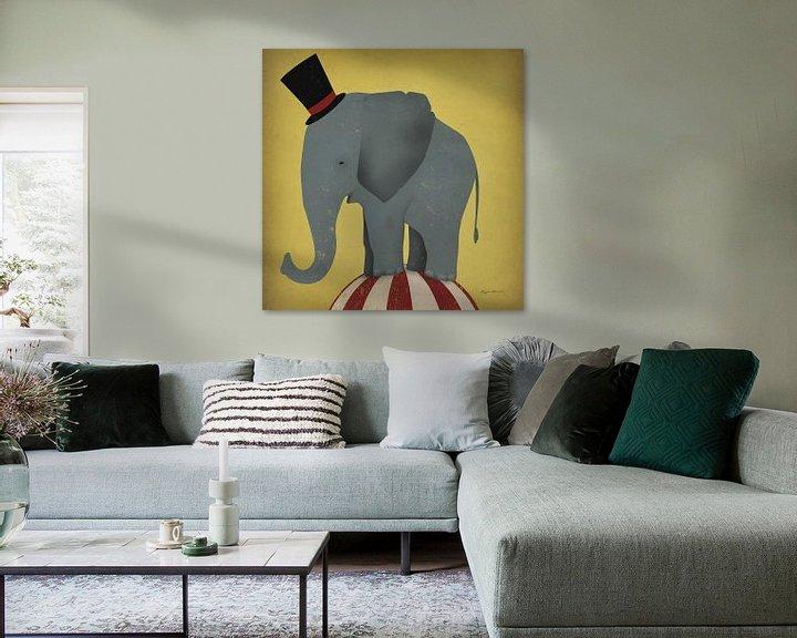 Beispiel: Zirkus-Elefant, Ryan Fowler von Wild Apple