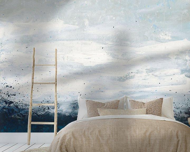 Sfeerimpressie behang: Seaside Escape IV, Courtney Prahl van Wild Apple