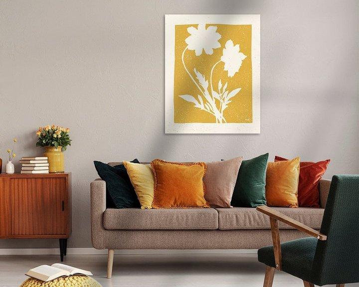 Beispiel: Joyful Frühling I Golden Yellow, Moira Hershey von Wild Apple