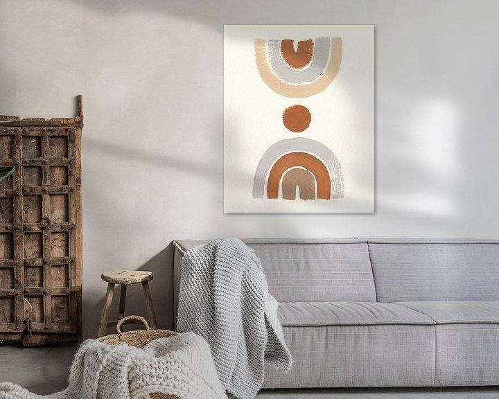 Beispiel: Wüste Rainbows II, Moira Hershey von Wild Apple