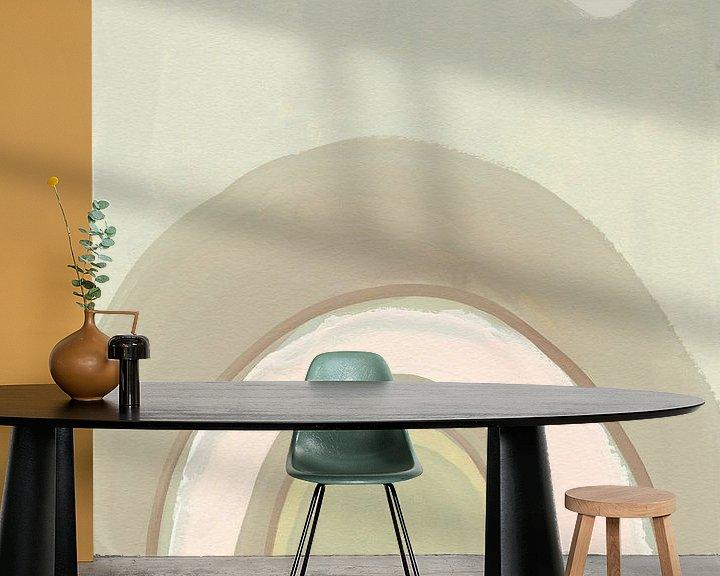 Beispiel fototapete: Pastel Arch II, Danhui Nai von Wild Apple