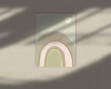 Pastel Arch II, Danhui Nai von Wild Apple