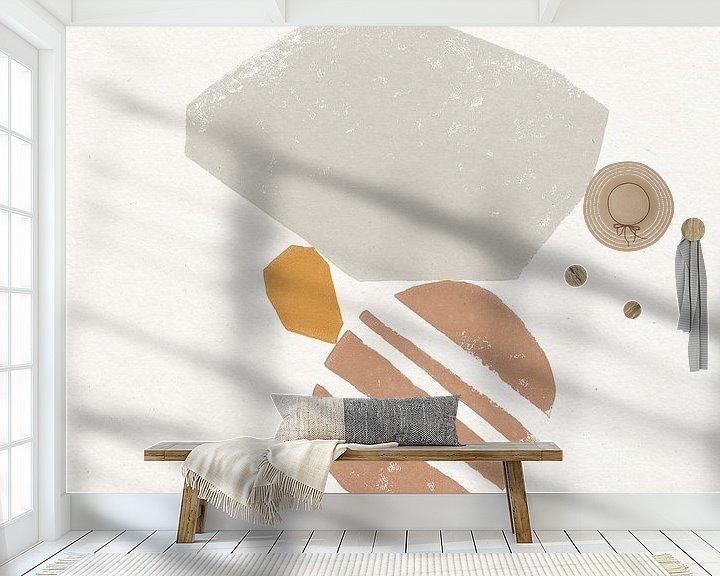 Beispiel fototapete: Wüste Stone II, Moira Hershey von Wild Apple