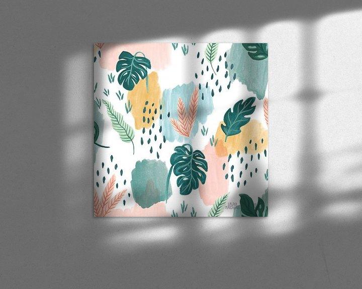Sfeerimpressie: Jungle Hangout Pattern V, Laura Marshall van Wild Apple