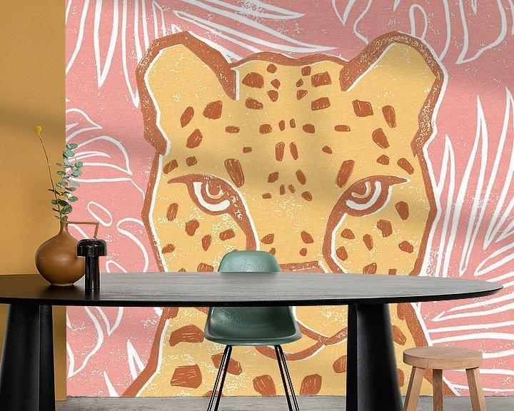 Beispiel fototapete: Jungle II, Moira Hershey von Wild Apple