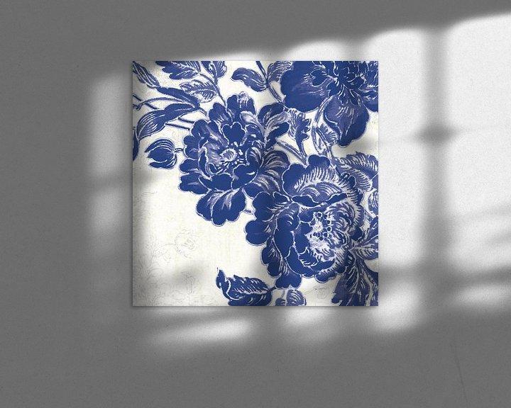 Impression: Roses V Toile, Sue Schlabach sur Wild Apple