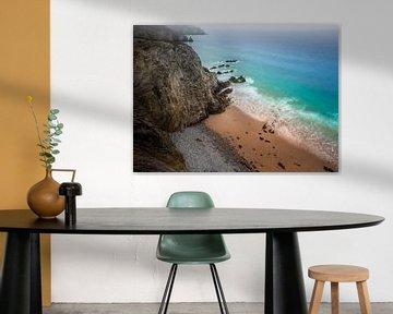 Bretagne strand van Jeroen Mikkers