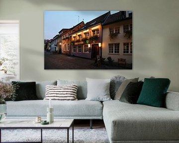 Münster, Altstadt, Studentenviertel, Cavete in der Kreuzstrasse, Münsterland, Nordrhein-Westfalen, D von wunderbare Erde