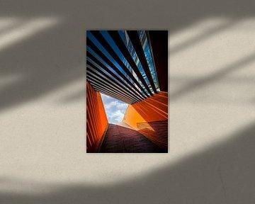 Duitsland, Hamburg, Hafencity, architectuur van Ingo Boelter