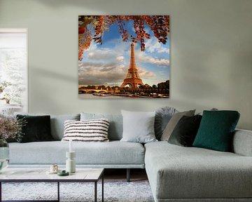 Paris im Herbst von Henny Hagenaars