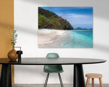 De Mooiste Stranden van de Wereld liggen in Palawan Filipijnen van Rik Pijnenburg
