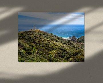 De Vuurtoren van Cape Reinga in Nieuw-Zeeland van Rik Pijnenburg