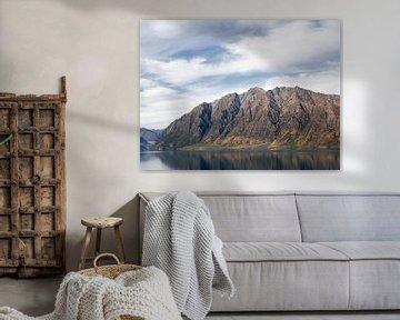 Neuseeland - Wanaka - Das Bergmassiv neben dem Lake Wanaka von Rik Pijnenburg