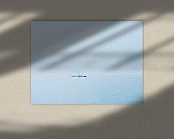 Einsames Kanu von Gerko Slotboom