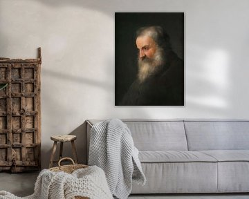 Kopf des alten Mannes, Jan Lievens